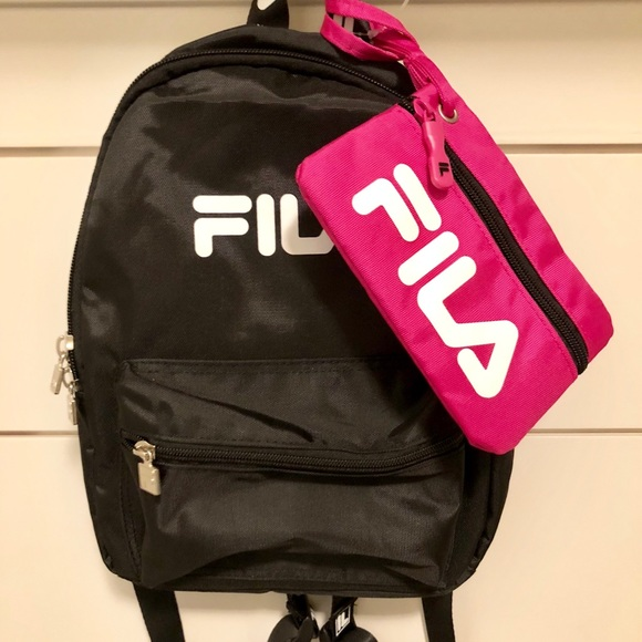 FILA Mini Backpack and pouch